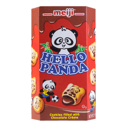 MEIJI Panda Chocolate Filling Cookie 57g