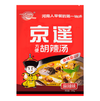JINGYAO FOOD HU LA TANG Hot Spicy Soup Flavor 240g