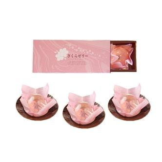 【日本直邮】百年老店 果子铺荣太楼季节限定樱花布丁 3枚装