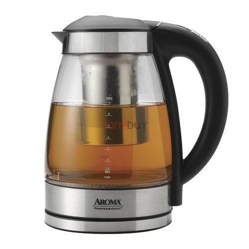 Aroma 1 7l German Glass Digital Electric Kettle 5 Year