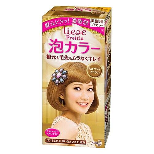 日本KAO花王 LIESE PRETTIA 泡沫染发剂 #奶茶棕色 108ml 怎么样 - 亚米网