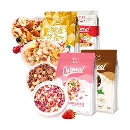 Ocak Cereal Gift Pack 4 Flavors