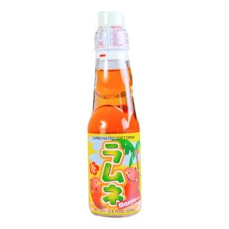 日本HATA RAMUNE 芒果味弹珠汽水 200ml