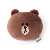 LINE FRIENDS Brown Hand Warmer