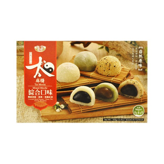 商品详情 - 台湾皇族 太麻薯 综合口味 450g - image  0