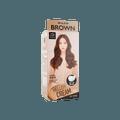 【2021新色】韩国MISE EN SCENE爱茉莉 美妆仙 HELLO CREAM 染发剂  6WB 暖棕色 单组入  白发可用