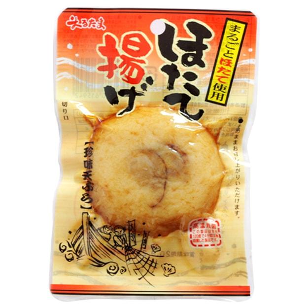 商品详情 - 【日本直邮】DHL直邮3-5天到 日本丸玉水产MARUTAMA 扇贝鱼肉味即食鱼饼海味零食 1个 - image  0