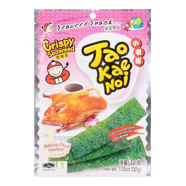 商品详情 - 泰国小老板 厚片脆海苔 北京烤鸭味 32g - image  0