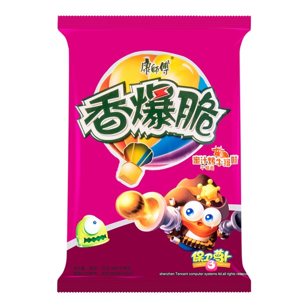 Product Detail - MASTER KONG Noodle Snack Beef Flavor 26g - image 0