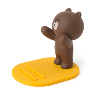 LINE FRIENDS Brown Figure Mobile Phone Cradle