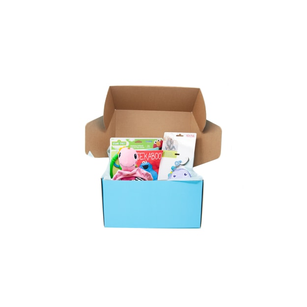 Product Detail - US Bae Bae Box 1 month baby toy box 4 pieces - image 0