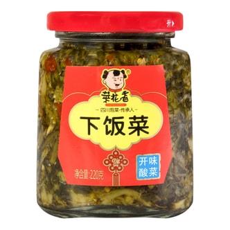 菜花香 下饭菜 开味酸菜 220g