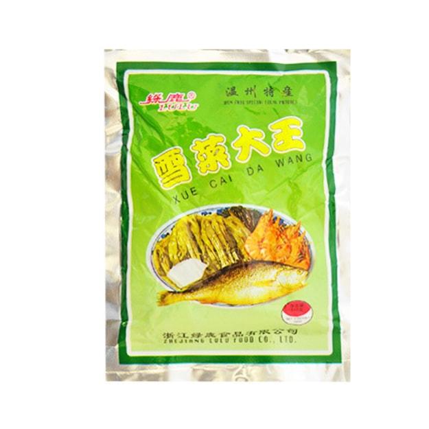 商品详情 - 浙江绿鹿 雪菜大王 150g 温州特产 - image  0