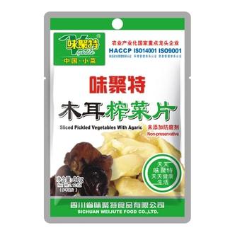四川味聚特 木耳榨菜片 60g