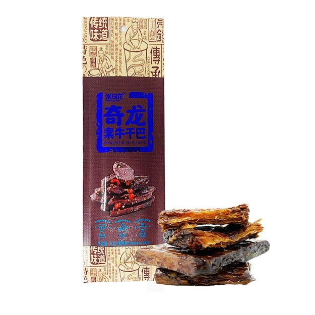Product Detail - ZHANGQILONG Tofu Strips Braised Flavor 23g - image 0