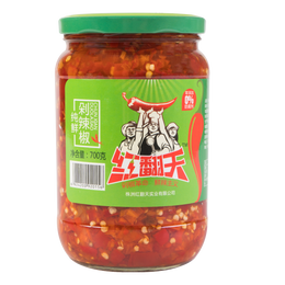 HONGFANTIAN Chopped Chili Pepper 700g