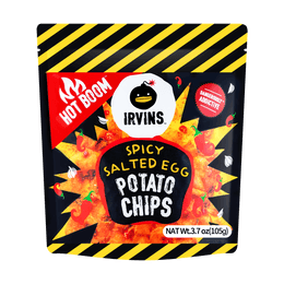 Spicy Salted Egg Potato Chips 105g