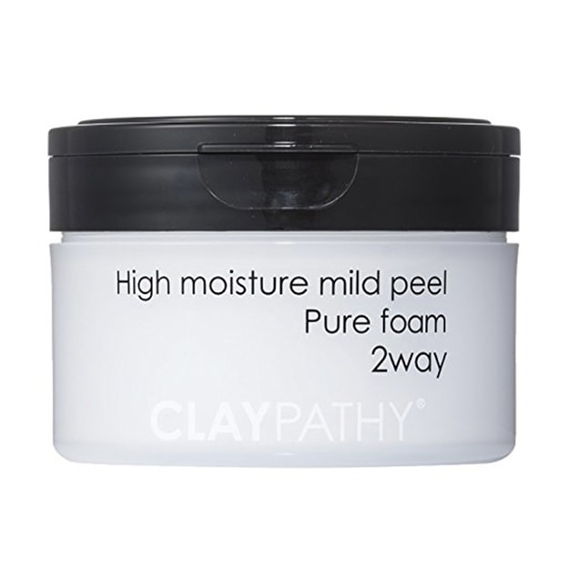 CLAYPATHY High Moisture Mild Peel Pure Foam 2way 140g