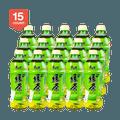 【超值分享装】康师傅 低糖绿茶 蜂蜜茉莉味 500ml*15瓶装  一箱