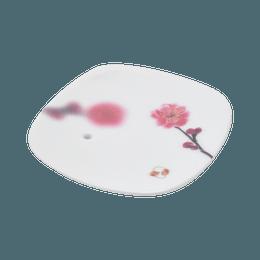 日本香堂||梦之梦香盘||淡红色梅花