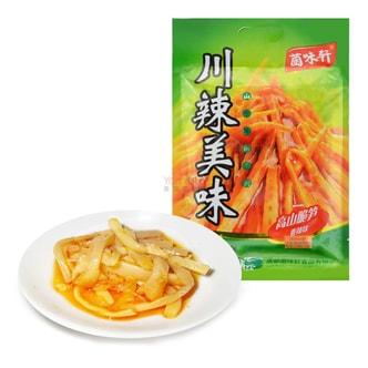 菌味轩 川辣美味 高山脆笋 香辣味 132g
