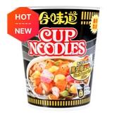 日本NISSIN日清 合味道 杯装方便面 黑胡椒蟹味 74g (日期格式: DDMMYYYY)