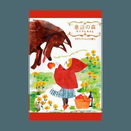 日本KOKUBO小久保 森林系童话浴盐 小红帽 新鲜采摘苹果香 50g