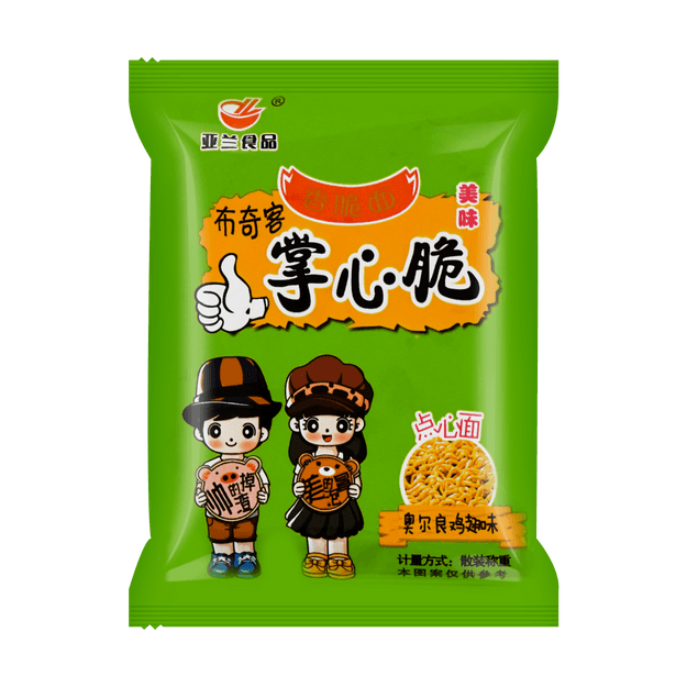 Product Detail - YALAN Crispy Palm Noodle Snack Orleans Chicken Wings 26g - image 0