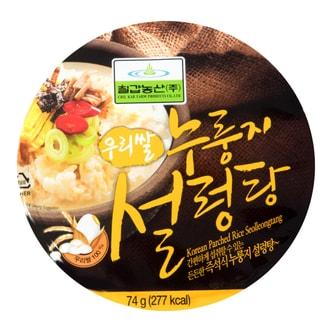 韩国CHILKAB 炒饭牛肉浓汤 桶装 74g