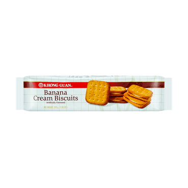 KHONG GUAN Banana Cream Biscuit 199g