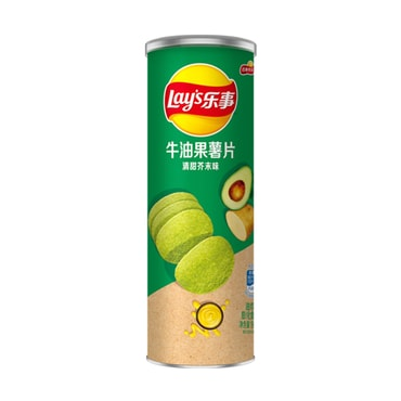 Lays' Potato Avocado Chips Wasabi Flavor 90g