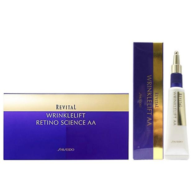 Product Detail - SHISEIDO Revital Wrinklelift Retino Science AA Eye Mask 12 pairs And Revital Wrinklelift AA 15g - image 0