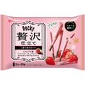 GLICO POCKY STRAWBERRY COCOA BISCUIT 10pack
