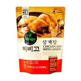 CJ Korean Traditional Chicken Soup Stew with Ginseng 800g