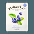 韩国IT'S SKIN 鲜萃系列 蓝莓维C矿物质补水清透面膜 1片