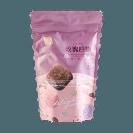 台湾糖鼎 玫瑰四物黑糖砖 7包入 210g