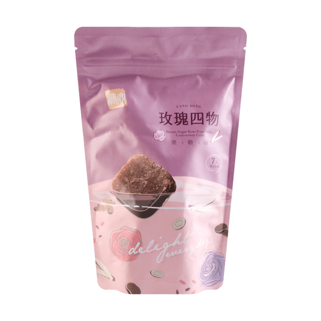 Product Detail - TANGDING Brown Sugar Rose Four Herb Concentration Cube 210g - image 0