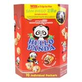 日本MEIJI明治 熊猫夹心饼干 巧克力味 258g