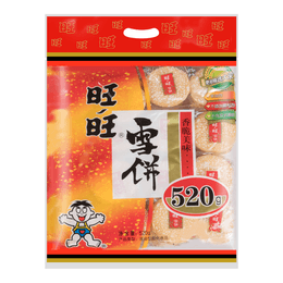 WANT WANT Shelly Senbei Rice Cracker 520g