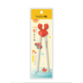 SUNCHA Children Learning Chopsticks for Kids Toddlers 19cm 1pair #Crab