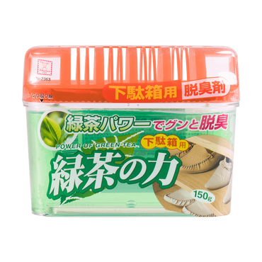 KOKUBO Green Tea Shoe Shelf Deodorizer 150g