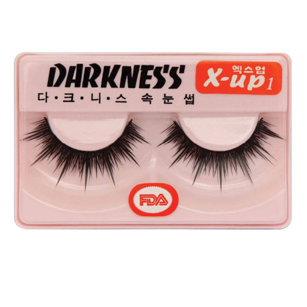 Product Detail - DARKNESS False Eyelashes  #Xup1 1Pair In 1Box - image 0