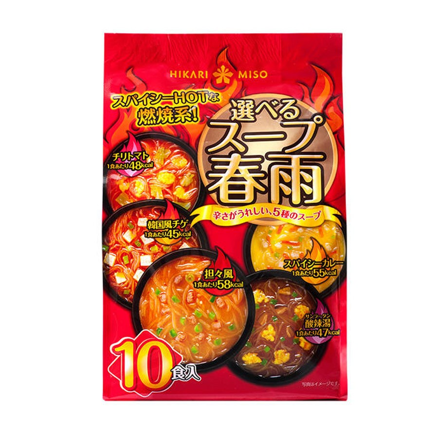 [日本直邮] HIKARIMISO 热辣精选速食粉丝汤面 10袋装 怎么样 - 亚米网