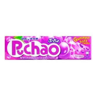 日本UHA悠哈味觉糖 葡萄味果汁夹心软糖 50g