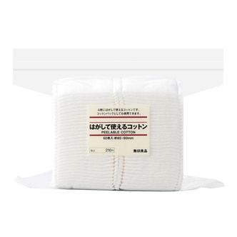 MUJI Layered Facial Cotton Pads 60 Sheets 85*60mm