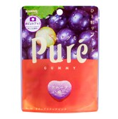KANRO Pure Gummy Candy Grape Flavor 56g