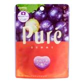 日本KANRO PURE果肉果汁咀嚼弹力软糖 葡萄味 56g