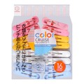 【Clearance】KOKUBO Multi Color Lingerie Apparel Household Pinch Clips 16pcs