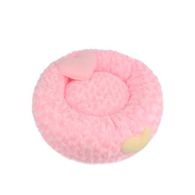 商品详情 - ALPHA DOG SERIES 宠物豪华甜甜圈床垫 #粉色 大号 - image  0