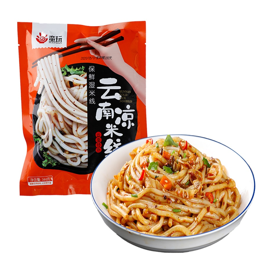 Yamibuy.com:Customer reviews:【Best Before 20201203】MANWAN Cold Rice Noodle 344g